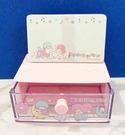 【震撼精品百貨】Little Twin Stars KiKi&LaLa 雙子星小天使~~三麗鷗便條紙附盒*98194
