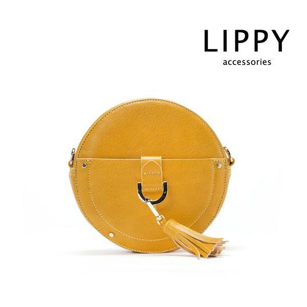 LIPPY Khloe克羅伊-土黃  Crossbody 側背包