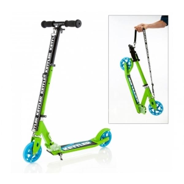 【德國KETTLER】Zero 6 時尚親子滑板車-閃亮綠 / JOYBUS 玩具百貨