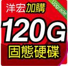 加購 120G SSD 固態硬碟 只要799