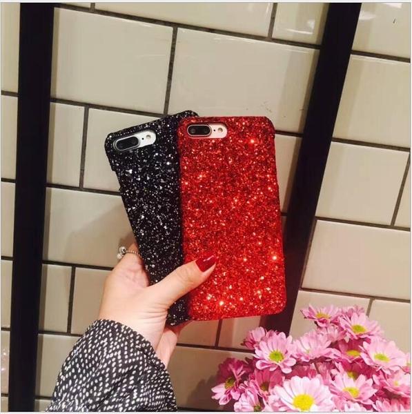 [24H 台灣現貨] oppo r11 plus 手機殼 素材 塑料 亮片 手機殼 閃粉 DIY