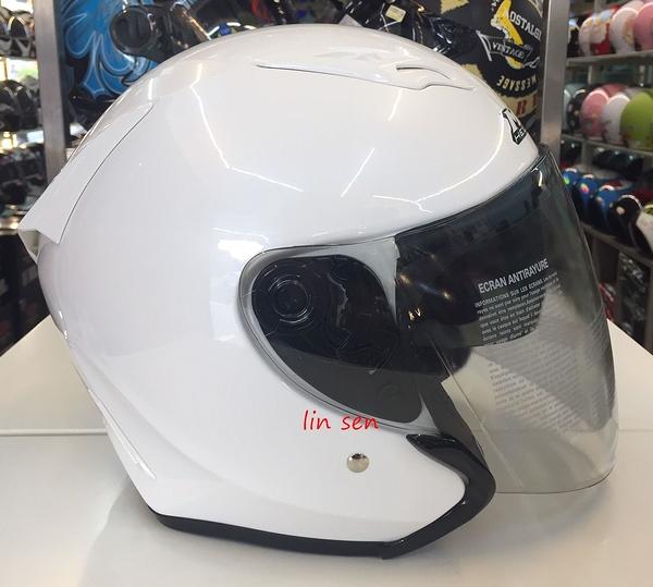 M2R安全帽,J5,素/白