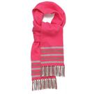 圍巾 I Love Gorgeous 喀什米爾羊絨流蘇圍巾 亮桃粉 AW13KNAC20