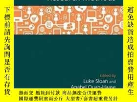 二手書博民逛書店The罕見Sage Handbook Of Social Media Research Methods-社交媒體研