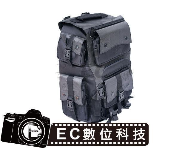 【EC數位】登山款後背式相機包 雙機五鏡 超大容量 雙肩加厚減壓背帶 防汗 60D 5D3 5D2 EC04