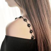 珍珠婚紗禮服文胸內衣肩帶防滑美背露肩吊帶 DN7401【VIKI菈菈】
