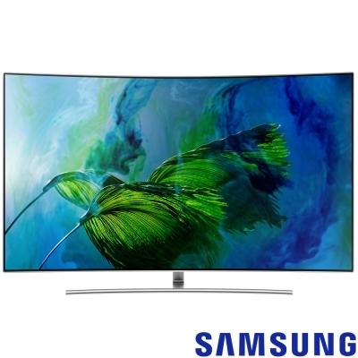 ★107/4/30前回函贈32吋+40吋電視 三星 SAMSUNG 75吋4K曲面液晶 QA75Q8CAMWXZW QA75Q8C 75Q8C
