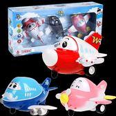 全館免運八折促銷-環奇慣性車云奇回力車玩具飛機兒童滑行車 音樂聲光玩兒童玩具車 萬聖節