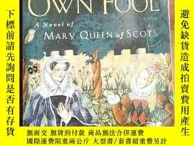 二手書博民逛書店QUEEN S罕見own fool (mary QUEEN oF