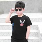 男童短袖T恤2020年夏季中大童胖兒童裝加肥寬鬆大碼半袖胖童上衣 FX5282 【夢幻家居】