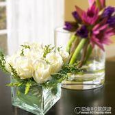 假花玫瑰花束仿真絹花裝飾花擺件客廳擺設餐桌花藝擺件 概念3C旗艦店