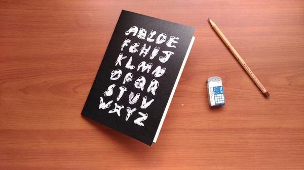 【書寶二手書T9/嗜好_AAA】軟骨頭-字母貓咪筆記本B_Mimi