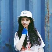 漁夫帽女夏原宿日系軟妹女韓版百搭時尚防曬遮太陽帽韓國學生盆帽