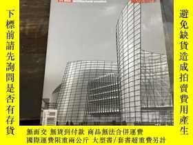 二手書博民逛書店建築創作罕見architectural creation 200