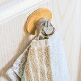 ✭米菈生活館✭【P645】精緻竹木掛勾(單勾) 臥室 免釘不銹鋼掛勾 無痕 門後 牆壁  黏膠 浴室