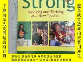 二手書博民逛書店Starting罕見Strong: Surviving and