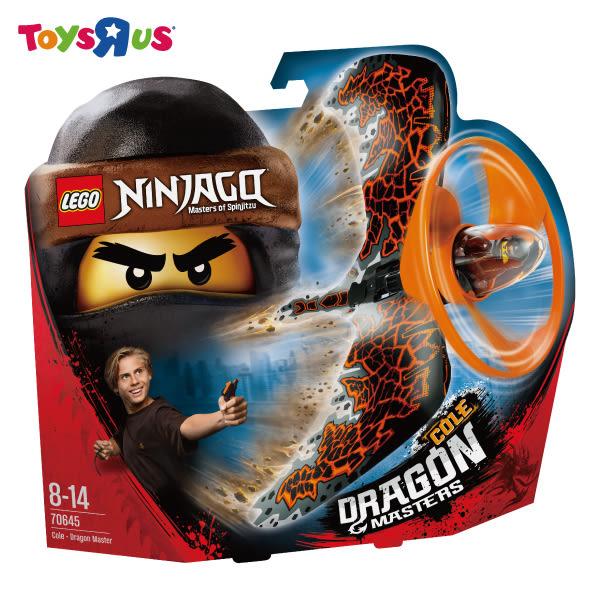 玩具反斗城  樂高 LEGO   NINJAGO 70645 阿剛 – 土之飛龍大師