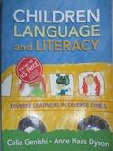 【書寶二手書T9/進修考試_PGU】Children, Language, and Literacy: Diverse