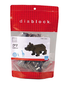 【日本 Kawada 河田】Diablock 迷你積木-棕熊 (大) DBC-05