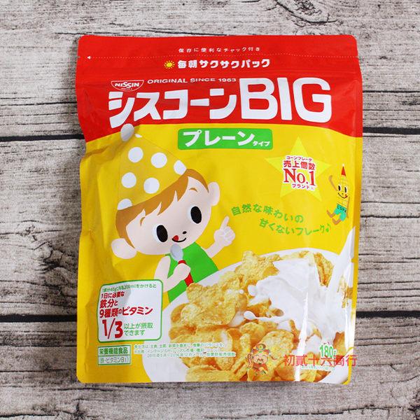 日清 BIG原味早餐玉米片180g【0216零食團購】4901620170011