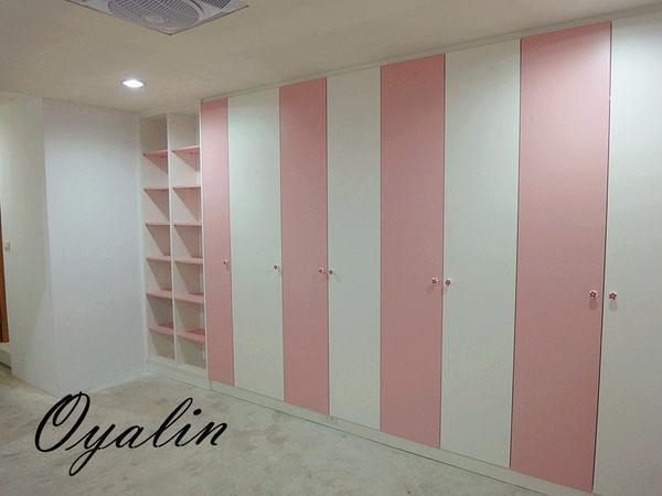 【系統家具】小孩房整體規劃設計大收納衣櫃100色可自由搭配