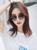 新款偏光太陽鏡女防紫外線圓臉大臉顯瘦墨鏡女ins潮 優尚良品