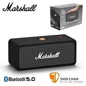 Marshall Emberton 藍牙喇叭 IPX7防水 輕巧攜帶設計 無線喇叭 藍牙5.0 音箱音響 / 台灣公司貨