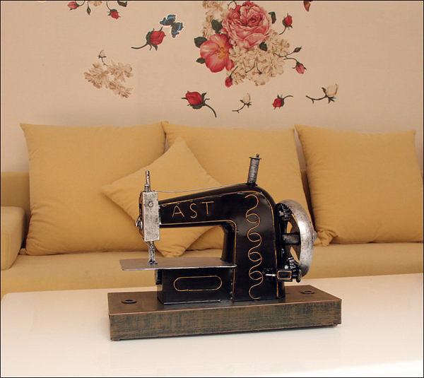 鐵工藝品老式縫紉機