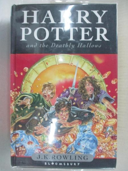 【書寶二手書T1/一般小說_C2I】Harry Potter and the Deathly Hallows_J.K.Rowling