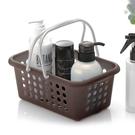 日本製造INOMATA衛浴小物手提瀝水籃(咖啡色)