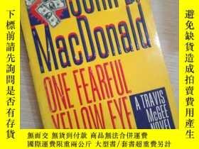 二手書博民逛書店one罕見fearful yellow eyeY16149 John D. MacDonald Fawcett