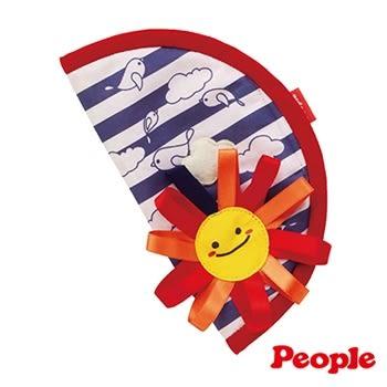 日本People 口水防汙安撫套/口水巾 太陽