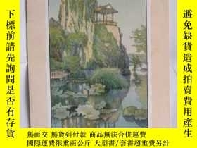 二手書博民逛書店罕見(民國畫片)廣州龍州中央公園3424 出版1912