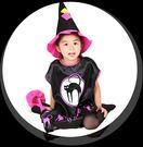 cosplay演出服女巫裙公主裙節日表演服演出服套裝