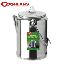 丹大戶外【Coghlans】加拿大 ALUMINUM COFFEE POT 9 CUP 鋁合金咖啡壺 9杯 1346