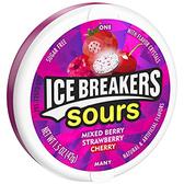【同品項.買一送一】ICEBREAKERS‧爆酸水果糖-紫盒42g