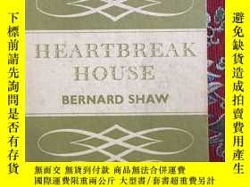 二手書博民逛書店HEARTBREAK罕見HOUSE BERNARD SHAWY1