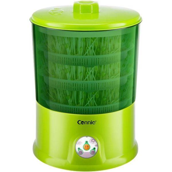 豆芽機家用全自動大容量發豆牙機生綠豆芽盆芽罐 智聯  igo