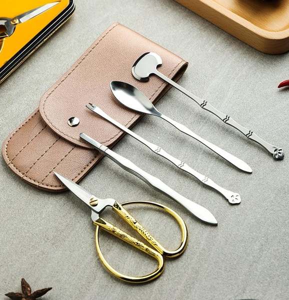 吃蟹工具 蟹八件家用吃螃蟹大閘蟹專用工具套裝蟹鉗夾子剪刀剝螃蟹神器