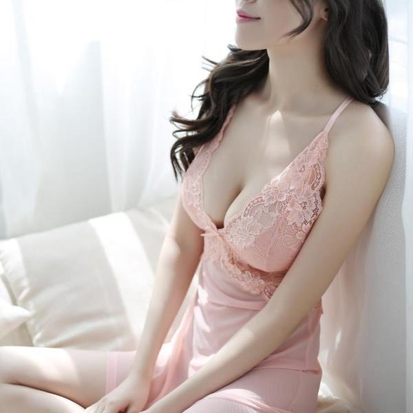 性感睡衣 情調衣人女士蕾絲吊帶透明誘惑睡裙秋冬大碼火辣小胸內衣性感睡衣