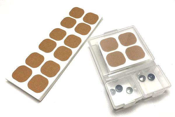 日本 易力氣 磁氣磁力貼 替換貼布 72枚入+磁石收納盒【JE精品美妝】
