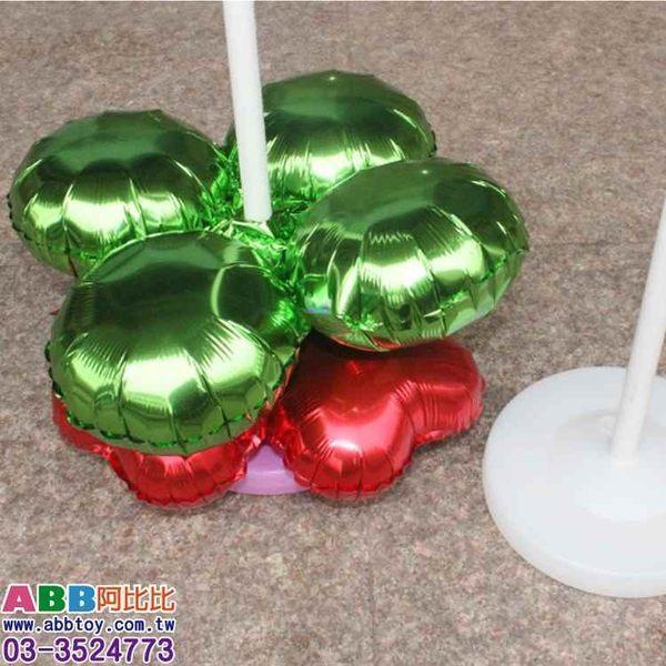 A0810-3💖四輪球_銀_33cm_10入#派對佈置氣球窗貼壁貼彩條拉旗掛飾吊飾