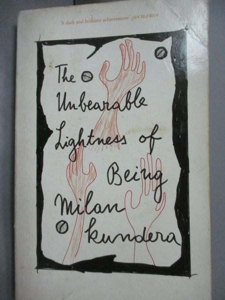 【書寶二手書T6/原文小說_LEB】Undearable Lightness of Being_Kundera, Mil