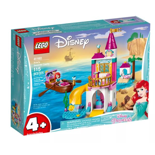 【LEGO 樂高 積木】41160 迪士尼公主 Ariel's Seaside Castle