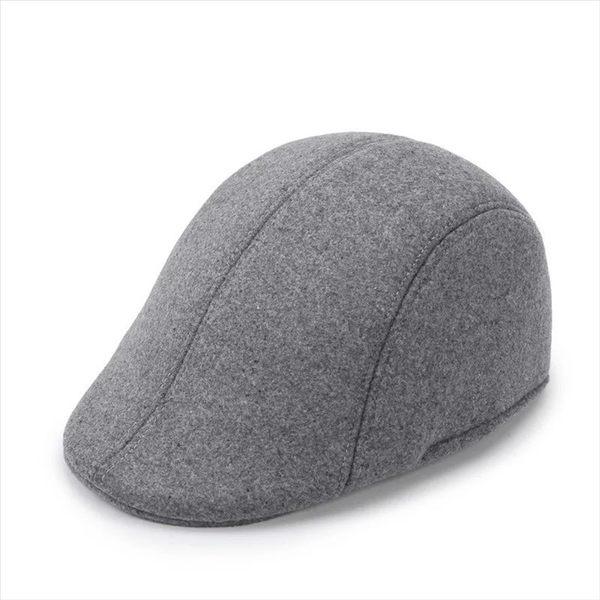 🔥現貨 熱銷款🔥流行不敗 四季百搭 男女中性款 素色帆布扁帽獵帽鴨舌帽畫家帽鳥帽 小偷帽扁