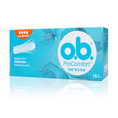 O.B. 歐碧 衛生棉條 量多/夜安型 16入【套套先生】衛生棉條/ob/棉條