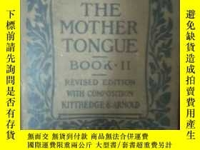 二手書博民逛書店早期的書籍《罕見the mother tongue book i