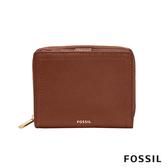 FOSSIL LOGAN RFID 咖啡色迷你多功能短夾SL7923200