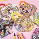PGS7 迪士尼系列商品 - 日本 迪士尼 代表 造型 票卡夾 票卡套 票卡包 白雪公主 愛麗絲【SGD61122】