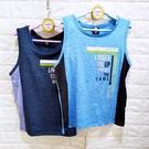 棒棒糖童裝(E53082)夏男大童運動風拼色背心上衣 110-160